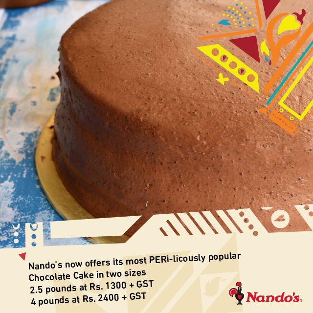 Nando's Chocolate Malt Cake