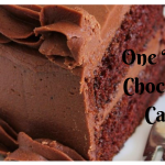 One Bowl Chocolate Cake